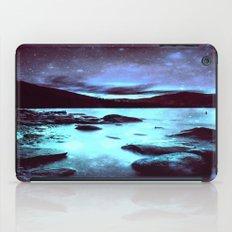 Magical Mountain Lake Violet Aqua iPad Case