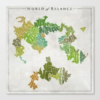 Final Fantasy VI - World… Canvas Print