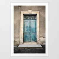 Porte N°372 Art Print