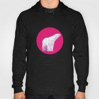 Magenta Polar Bear Hoody