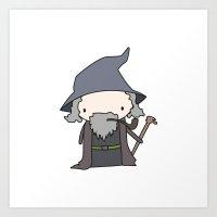 Gandalf Art Print