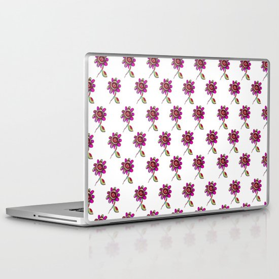 Fandango Flower Pattern Laptop & iPad Skin