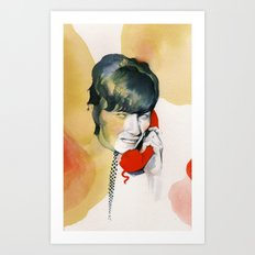 All the Young Dudes Art Print