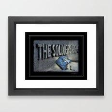 Honor The Fallen Framed Art Print