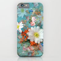 Romantic Flowers And But… iPhone 6 Slim Case