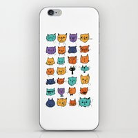 Stylish Cats iPhone & iPod Skin