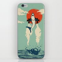Up From The Deep iPhone & iPod Skin