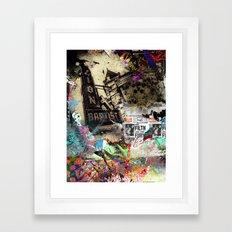 Mixed media Framed Art Print