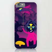 Night of the forest spirit iPhone 6 Slim Case