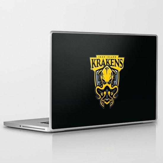 Iron Island Krakens Laptop & iPad Skin