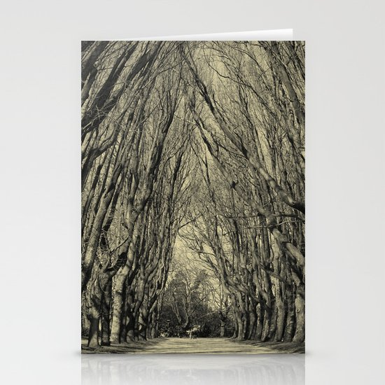 trees Stationery Card
