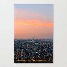 Montreal Twilight Canvas Print