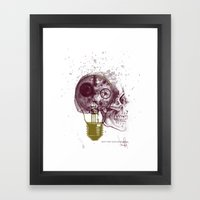Not Too Late For Ideas Framed Art Print