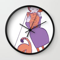 String Toy Wall Clock