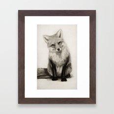 Fox Say What?! Framed Art Print
