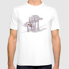 Not quite a fire hydrant White Mens Fitted Tee SMALL