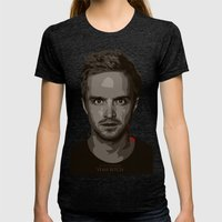 Breaking Bad Jesse Womens Fitted Tee Tri-Black SMALL
