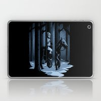 The Walker In The Woods Laptop & iPad Skin