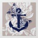 Anchor Art Canvas Print