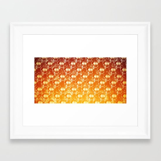 Big Fireee! Framed Art Print