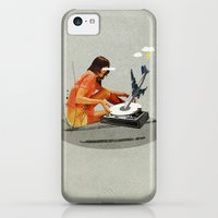 iPhone 5c Cases featuring Blind, deaf too   Collage by Ju. Ulvoas