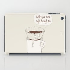 Coffee Runs iPad Case