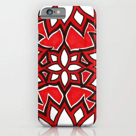 red lotus iPhone & iPod Case