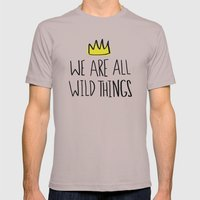 Wild Things Mens Fitted Tee Cinder SMALL