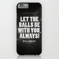 iPhone & iPod Case featuring BallWars: Poster by Dr. Lukas Brezak