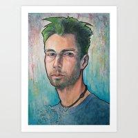 MCA (Adam Yauch) 90's Tr… Art Print