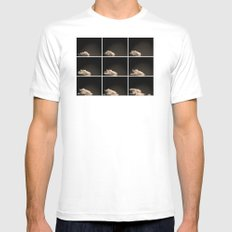 A brief sighting White SMALL Mens Fitted Tee