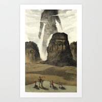 The Old gods Art Print