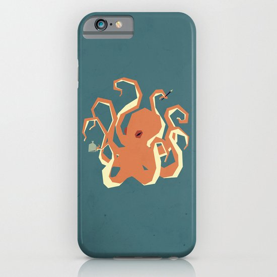 O is for Octopus iPhone & iPod Case