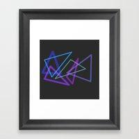 Glow Stick  Framed Art Print