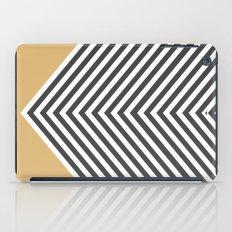 Gold Chevron iPad Case
