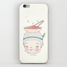 맛! Bon appetit bizarre nouille restaurant ! iPhone & iPod Skin