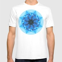 Deconstructed Diamond Mens Fitted Tee White SMALL