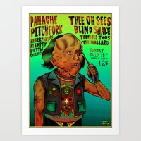Poster Thee Oh Sees  Art Print
