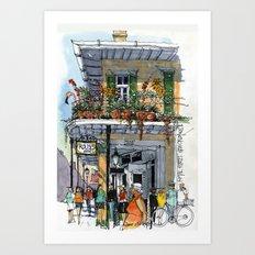 Royal Street New Orleans Art Print