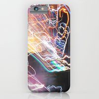 iPhone & iPod Case featuring Techno-Finger Painting by Theresa Avery