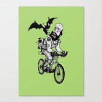 BAT RIGHTS! Canvas Print