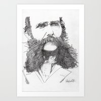 Moustache Art Print