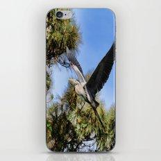 Blue Heron in the Trees Oil iPhone & iPod Skin