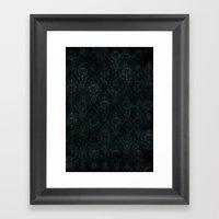 Victorian Onyx Framed Art Print