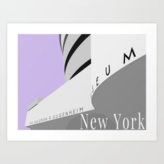 New York - Guggenheim Art Print