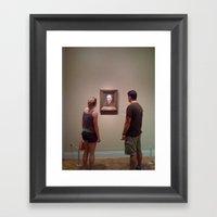 Museum Lust Framed Art Print
