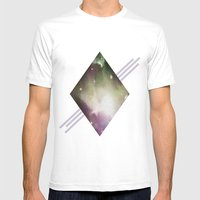 DreamScape Mens Fitted Tee White SMALL