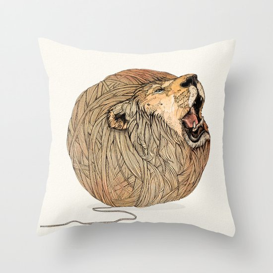 Unravel Me Throw Pillow