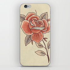 Rose on a Stem iPhone & iPod Skin