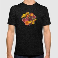 Flowers For Lola Mens Fitted Tee Tri-Black SMALL